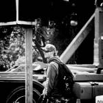 """bike messenger in Edinburgh"" by adamvarga"