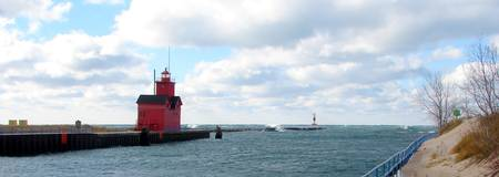 Holland Harbor Lighthouse - Big Red