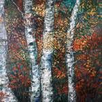 """Autumn Birch"" by nadinerippelmeyer"