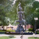 """Fountain Park"" by juliaKapp"