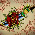 """""""rose and knife"""" by S_F"""
