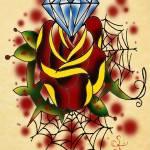 """dim rose"" by S_F"