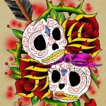 """sugar skulls"" by S_F"
