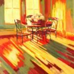 """Auburn Dining Room"" by CorrineBongiovanni"