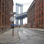 """Manhattan Bridge From Brooklyn Street"" by BobJagendorf"