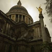Reaching St Paul's Art Prints & Posters by Miodrag Bogdanovic