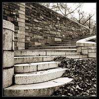 Stone Stairs in Riverside Park