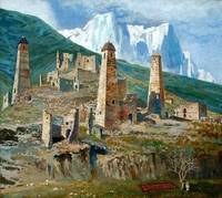 An Old Chechenyan Village - Vaharsolt Balatkhanov