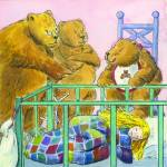 """Goldilocks and the Three Bears"" by LouiseCrowe"