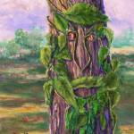 """Old Man of the Woods:  Tree"" by Lenora"