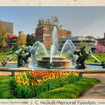 """Nichols Fountain - I"" by BKap"
