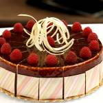"""white chocolate raspberry cake"" by MariaPowell"