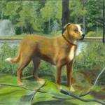 """""""Dog In The Forrest"""" by tinibaybeez"""