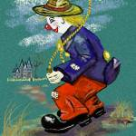 """Clancy D.Clown Skipper"" by LeonD"