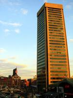Baltimore's World Trade Center and Hard Rock Cafe,