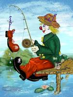Clancy D Clown Fisherman