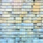 """Stonewall at Sunset Mosaic Blue and Guild"" by keithcowleyart"