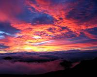 Maui Sunrise @ Summit of Haleakala National Park,