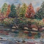 """""""Autumn Stream"""" by nadinerippelmeyer"""