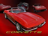 Red Vette collage