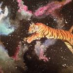 """Space Tiger"" by CaitlinGPadilla"
