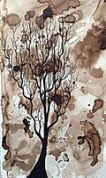 Walnut Ink Tree