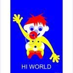 """Baby - Hi World"" by Lonvig"