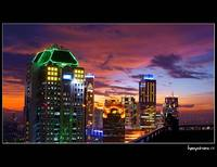 .: SCBD in golden hour :.
