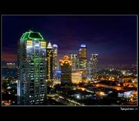 .: SCBD in blue hour :.