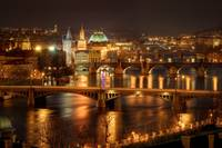Prague Bridges, Czech Republic