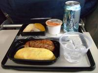United Y-CL In-flight Meal