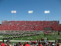 Texas Tech University vs Texas A&M Half Time 2007