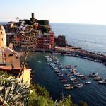 """Port of Vernazza"" by DonnaCorless"