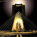 """""""Azadi Monument, Tehran, Iran"""" by FarajB"""