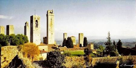 The Town of the Beautiful Towers: San Gimignano, I