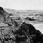 """Seal Rock House from Cliff house 1865, San Francis"" by worldwidearchive"