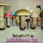 """power up mushrooms"" by pokestuff"