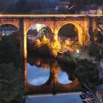 """The Last Train across Knaresborough Viaduct"" by Stevebb"