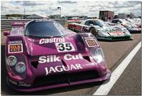 TWR Silk cut Castrol Jaguar XJR12 Group C