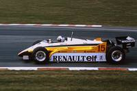 Alain Prost Renault RE20 F1 Brands Hatch British G