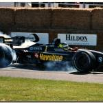 """Cristiano da Matta Newman Haas Lola Toyota Goodwoo"" by antsphoto"