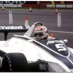 """""""Nelson Piquet Brabham BT49 F1 British GP Silversto"""" by antsphoto"""