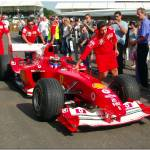 """Marc Gene Ferrari f12004 Goodwood Festival of spee"" by antsphoto"