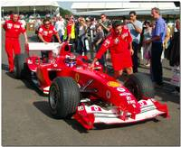 Marc Gene Ferrari f12004 Goodwood Festival of spee