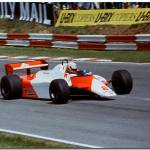 """Niki Lauda F1 Mclaren MP4/1 1982 British GP Brands"" by antsphoto"