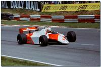 Niki Lauda F1 Mclaren MP4/1 1982 British GP Brands