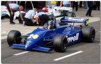 Ex Michele Alboreto Tyrrell 011 F1 Thoroughbred Gr