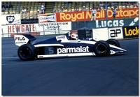 Nelson Piquet F1 Brabham BT51 BMW  British GP 1983