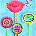 """Whimsical Garden"" by SarahFisher"