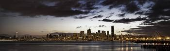 Seattle Skyline Alki HDR